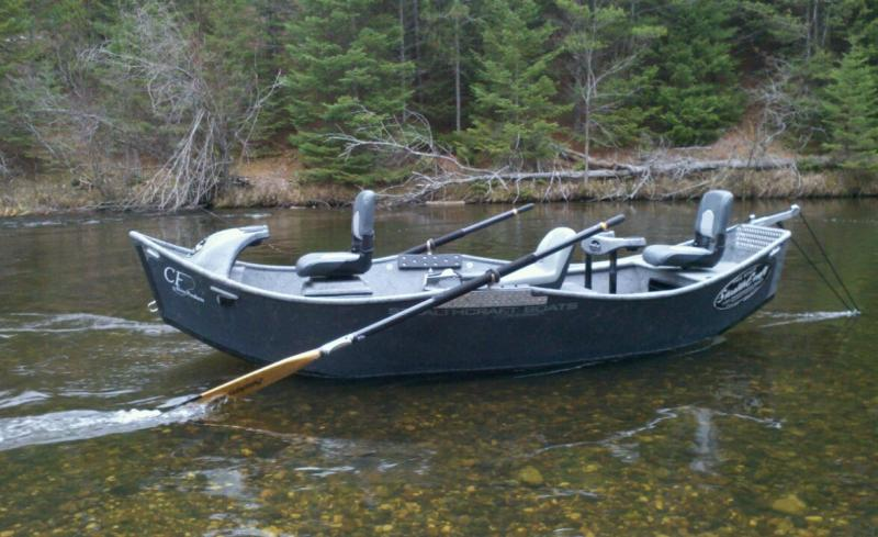 Cf river products stealthcraft driftboat au sable river for Fly fishing michigan